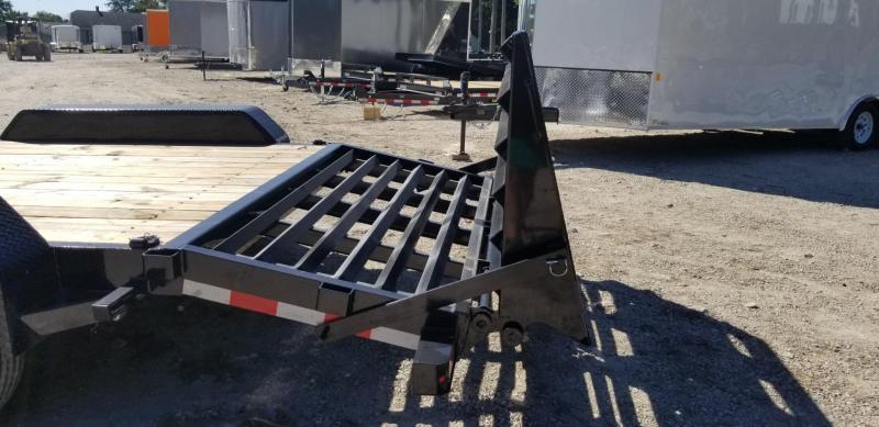 2021 Sure-Trac 7x17+3 Equipment Trailer 14k