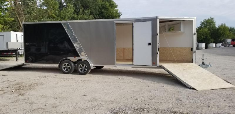 ON ORDER 2020 R&R 7X22 Slasher Elite Enclosed Snowmobile Trailer 7k