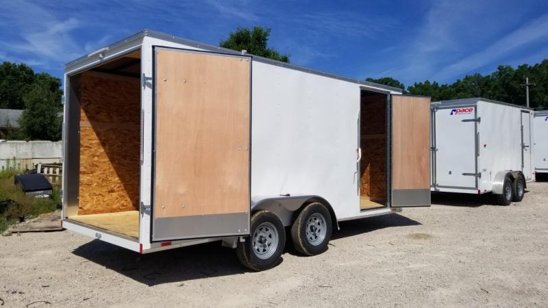 2021 Pace 7x16 Outback Cargo Trailer w/Barn Doors 7k