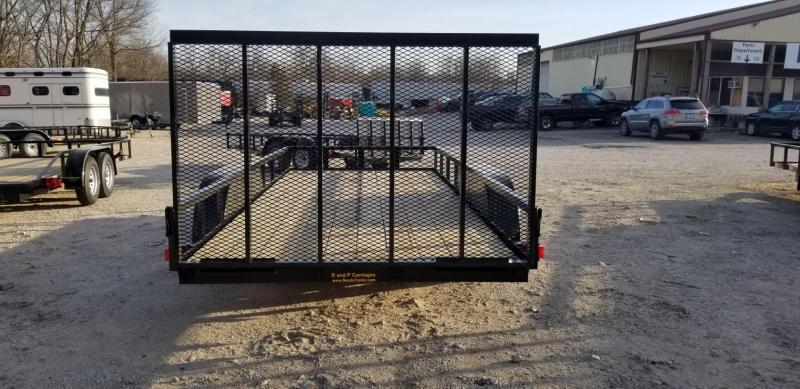 2020 M.E.B. 6.4x16 Utility Trailer w Gate and Brake 7k