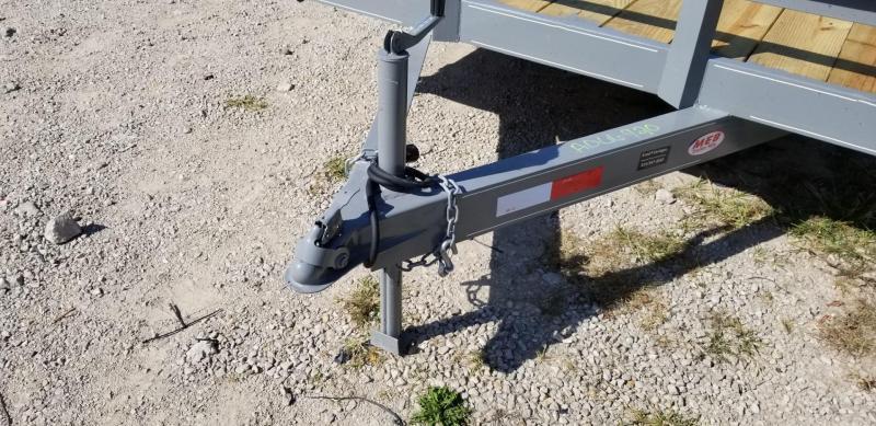 2022 M.E.B 7x20 Wood Deck Open Auto Hauler 7K GVWR