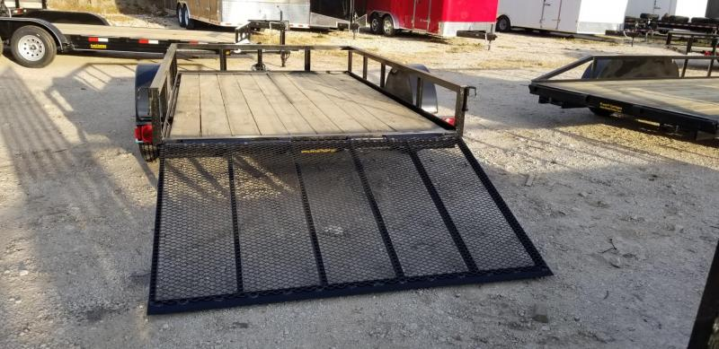 2021 M.E.B 6.4x12 Angle Iron Utility Trailer w/Gate 3k