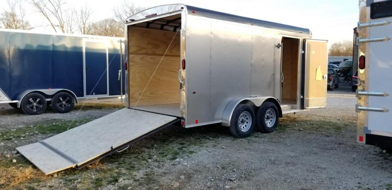 2021 Interstate 7x14 IWD Enclosed Cargo Trailer 7k