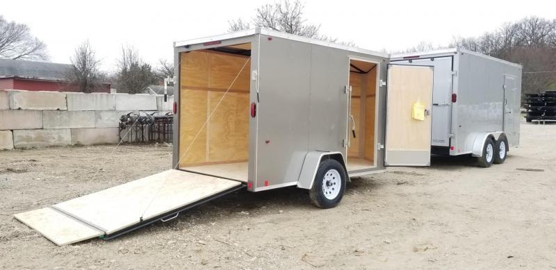 2021 Interstate 6x10 SFC Enclosed Cargo Trailer 3k