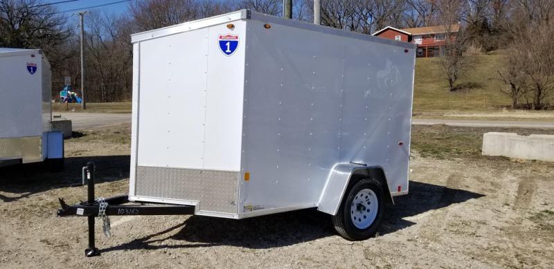 2022 Interstate 5x8 SFC Enclosed Cargo Trailer 3k