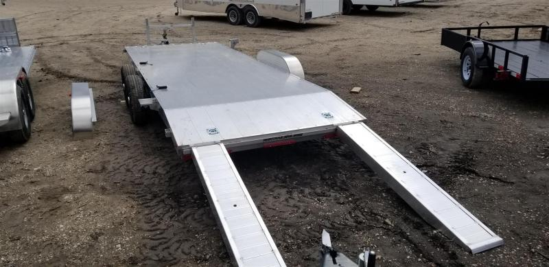 ON ORDER 2020 R and R 7x20 All Aluminum Open Deck Auto Hauler 7k