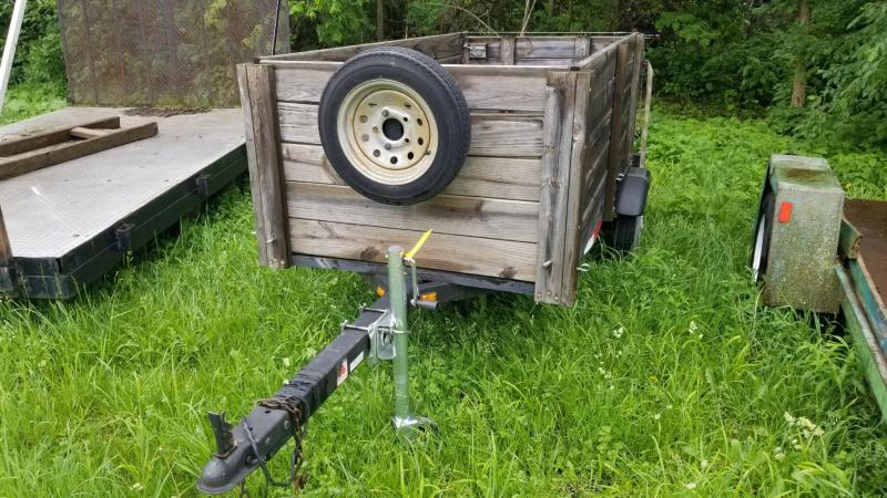 2006 Homemade 3x8 Utility Trailer w/High Sides 2k