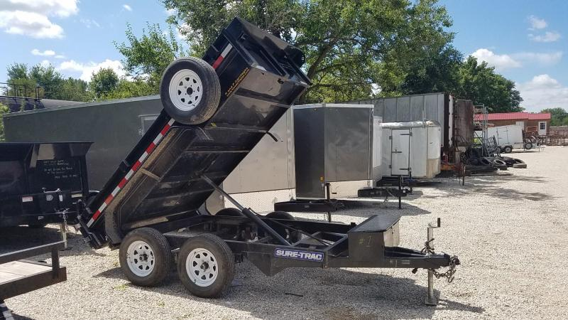 FOR RENT ONLY #1 62x10 Single Ram Dump Trailer