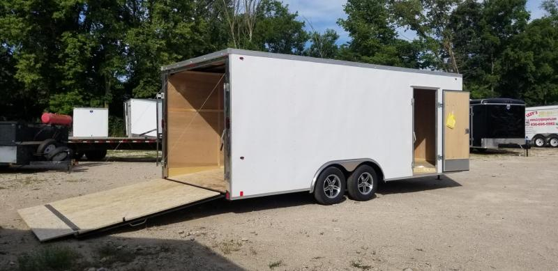 2020 Interstate 8.5x20 STW Enclosed Car Hauler 7k