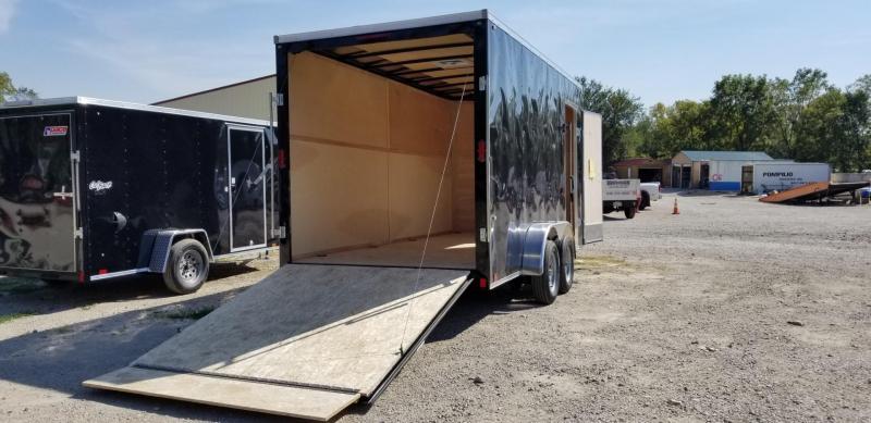 2022 Interstate 7x16 SFC Enclosed Cargo Trailer 7k