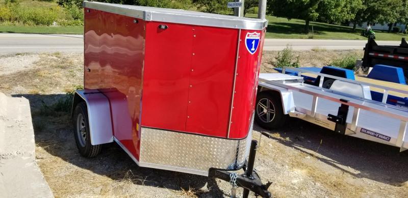 2022 Interstate 5x6 SFC Enclosed Cargo Trailer 3k