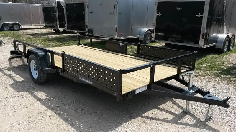 ON ORDER 2021 Sure Trac 7x14 Tube Top ATV Utility Trailer w/Gate 3k