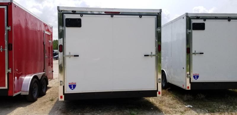 2021 Interstate 8.5x18 IFC Enclosed Cargo Trailer 7K GVWR