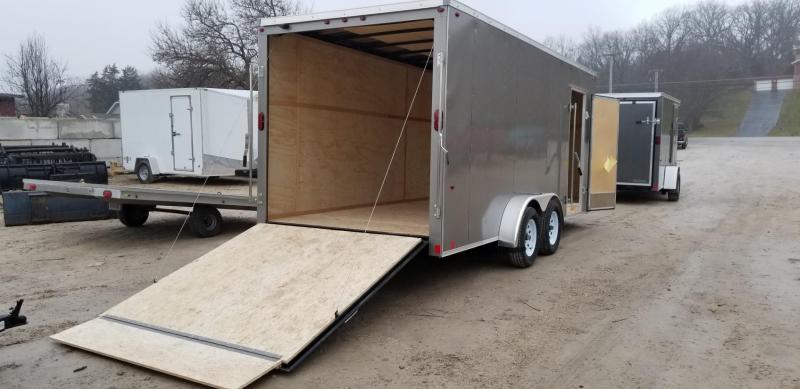 2021 Interstate 7x18 SFC Enclosed Cargo Trailer 7k GVWR