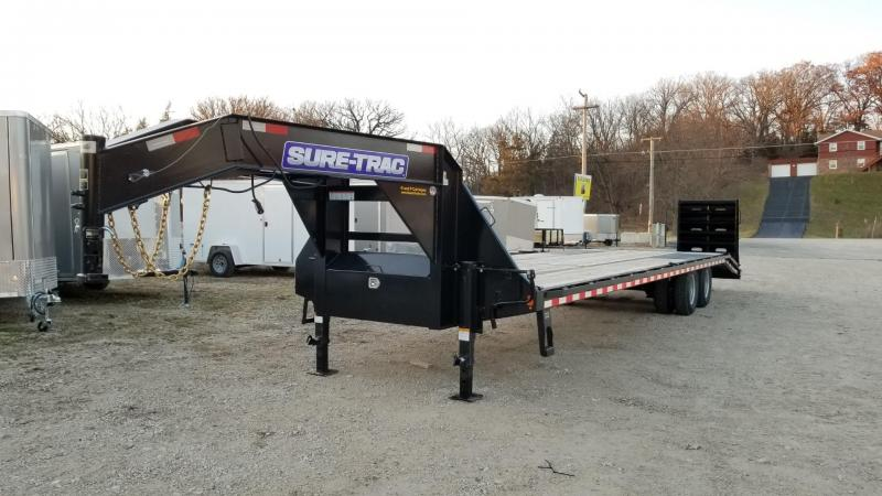 2020 Sure-Trac 8.5x27+5 Heavy Duty Gooseneck Equipment Trailer w/Ramps 20k