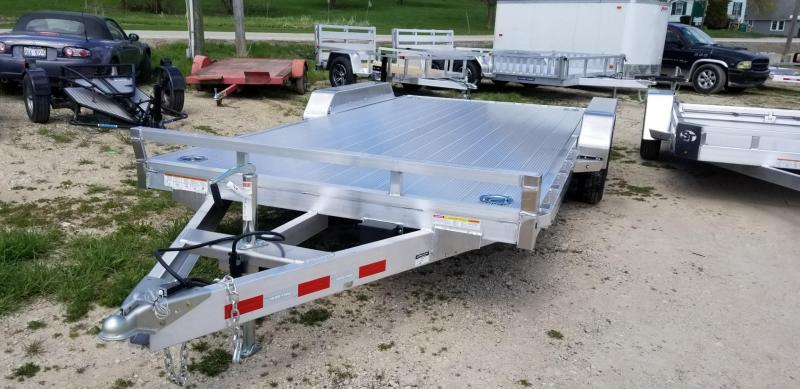 2021 Sure-Trac 7x18 Aluminum Auto Hauler 7k GVWR