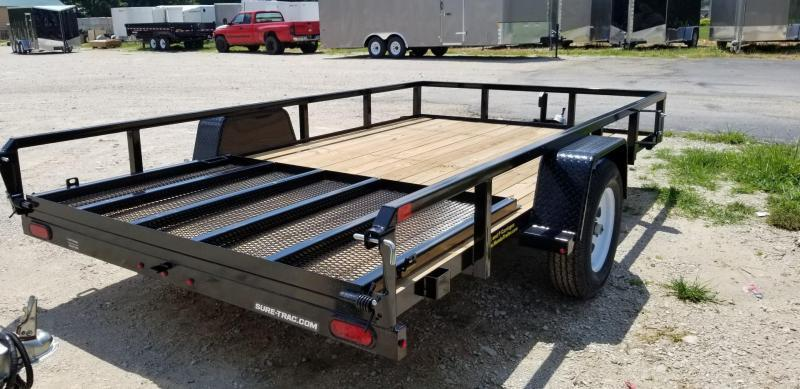 ON ORDER 2021 Sure-Trac 7x12 Tube Top Utility Trailer w/Gate 3k