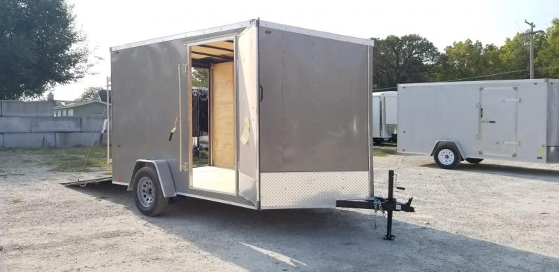 2021 Interstate 7x10 SFC Enclosed Cargo Trailer 3K