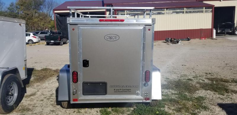 2021 R and R Trailers 4x6 Enclosed All Aluminum Cargo Trailer 2.2k