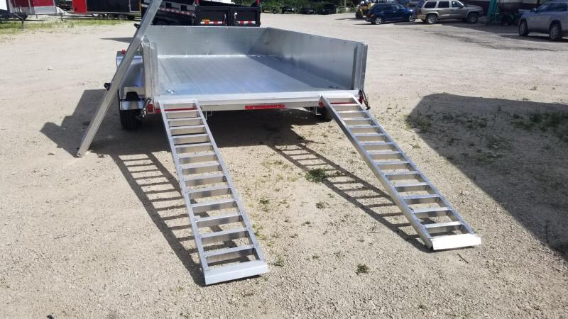 2021 R&R 6x10 ATP All Aluminum Utility Trailer w/Slide Out Ramps 3k
