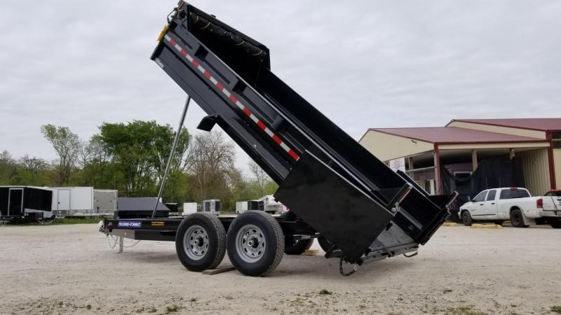 ON ORDER 2021 Sure Trac 82x14 Telescopic Dump Trailer 14k