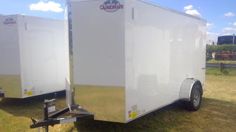 2020 Cargo Mate 6X12 Single Axle Enclosed Cargo Trailer