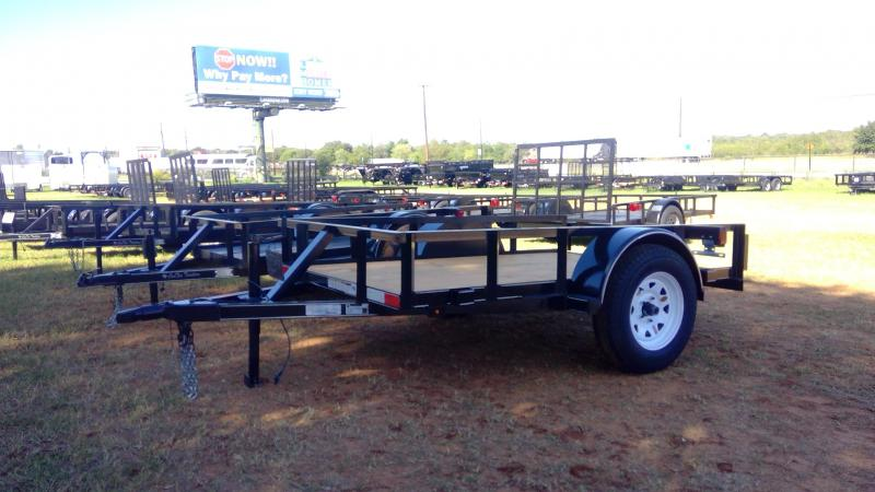 2019 J&C Trailers 5X8 Single Axle Utility Trailer