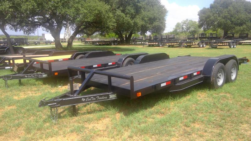 2019 Centex Trailers 82X18 Tandem Car / Racing Trailer