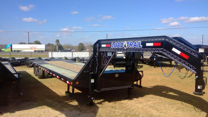 2020 Load Trail 102X27+5 Tandem Dual Flatbed Trailer