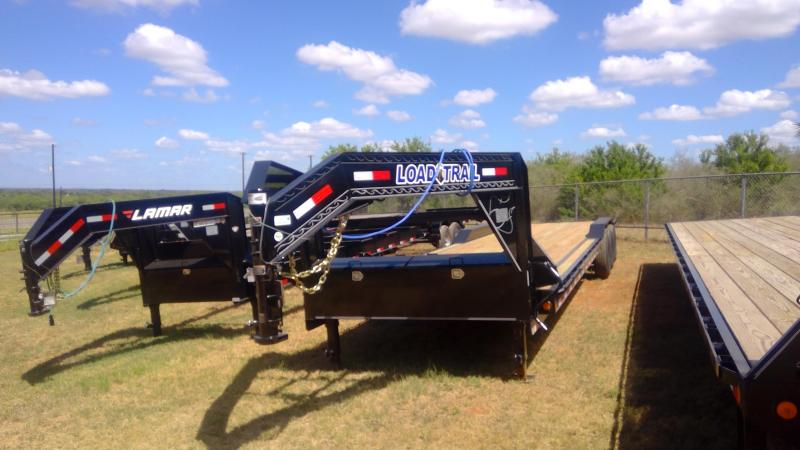 2020 Load Trail 102X34 Triple Axle GN Equipment Trailer