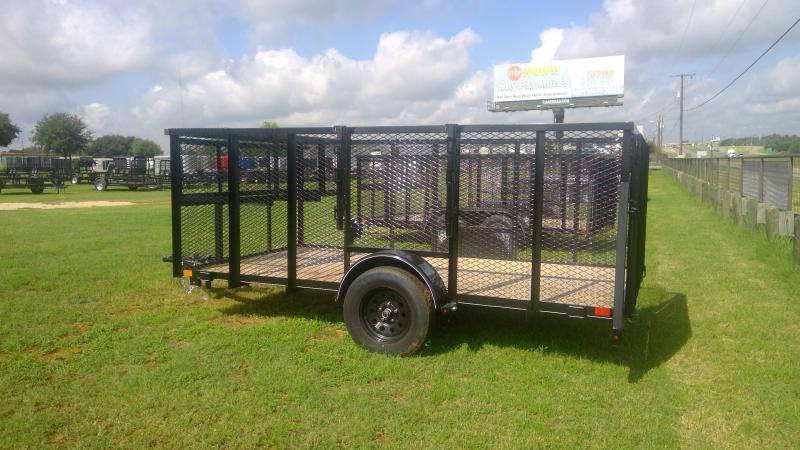 2019 BCI Trailers 77X12 Single Axle Landscape Utility Trailer
