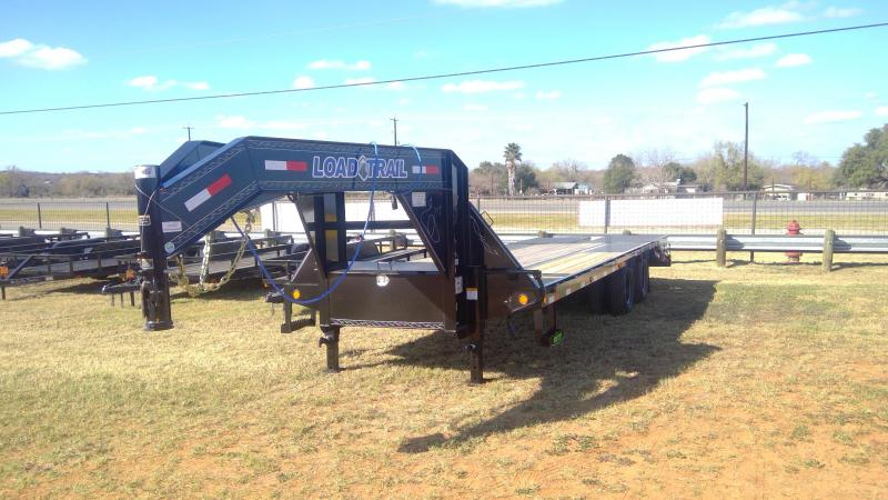 2020 Load Trail 102X20+5 Tandem Dual Flatbed Trailer