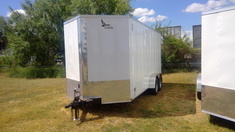 2020 Lark 7X16 Tandem Axle Enclosed Cargo Trailer