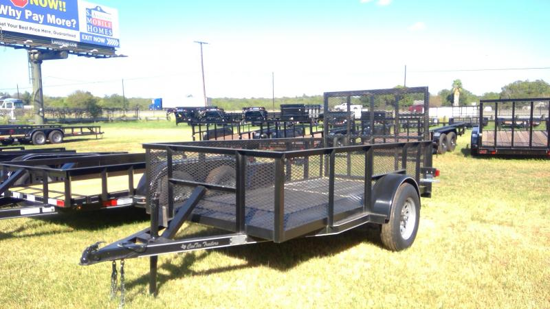 2019 Centex Trailers 5X10 Single Axle Utility Trailer