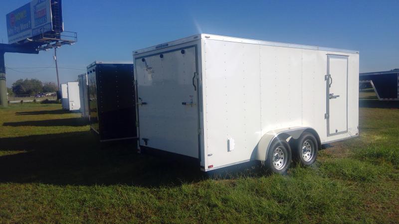 2020 Lark 7X16 Bumper Pull Enclosed Cargo Trailer