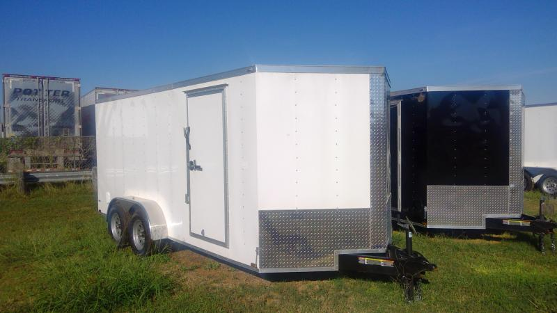 2020 Lark 7X16 Bumper Pull Enclosed Cargo Trailer