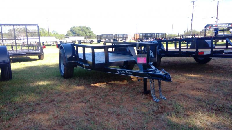 2019 Centex Trailers 4X8 Single Axle Utility Trailer