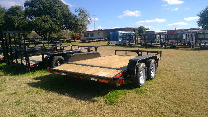 2019 J&C Trailers 82X12 Tandem Car / Racing Trailer