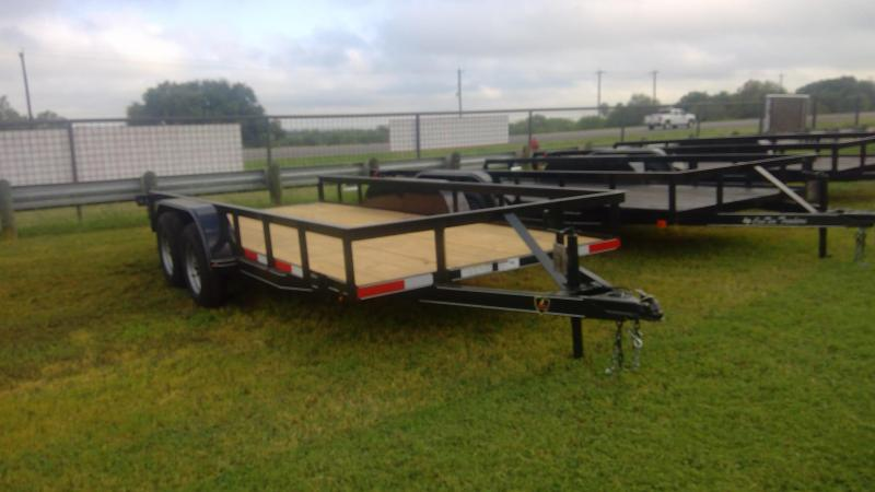 2019 J&C Trailers 76X16 Tandem axle Utility Trailer