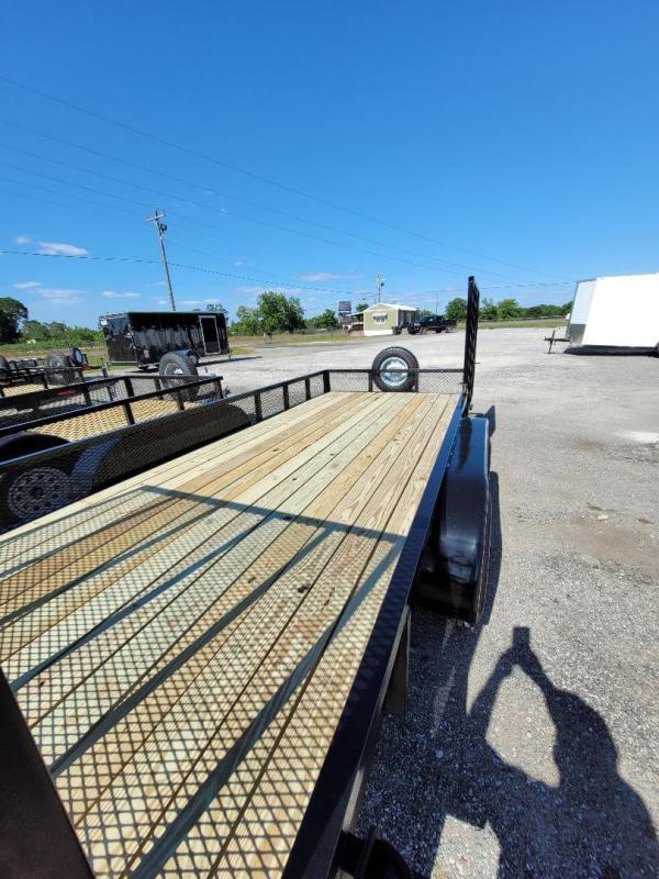 2021 Southern Trailer Depot 7x16TA-3500 HD Double Gate Utility Trailer