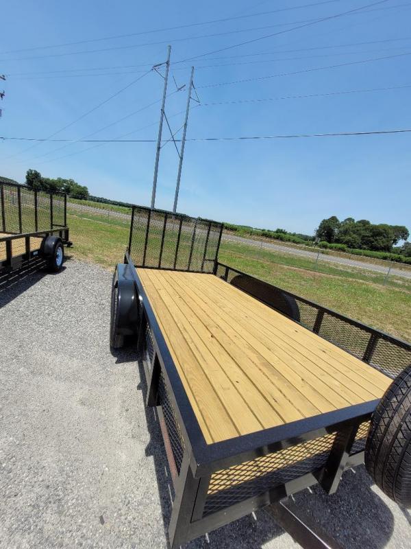 2021 Southern Trailer Depot 7x14TA-3500 HD Ramp Gate Utility Trailer