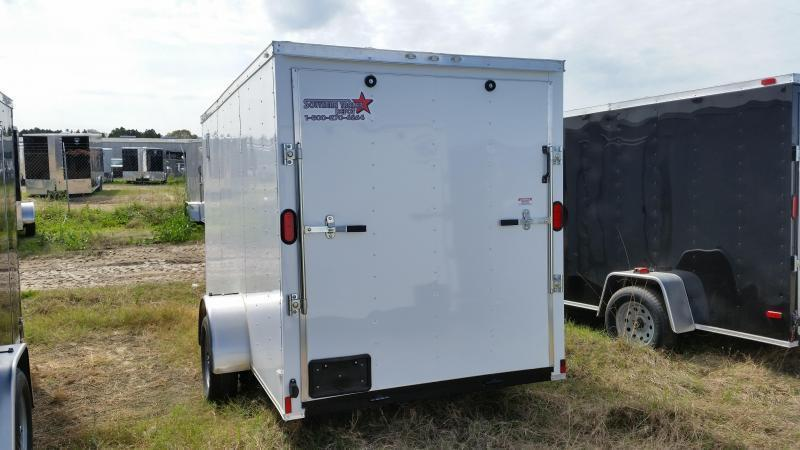 New 6x12 SA Enclosed Cargo Trailers
