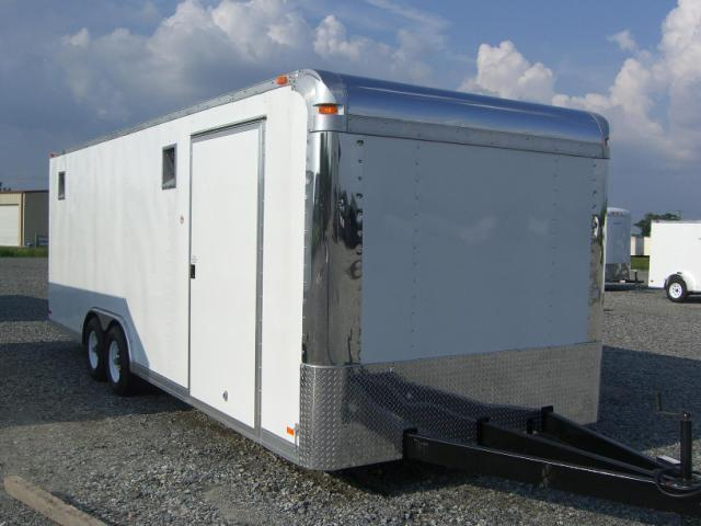 8.5x24 Rock Solid Cargo Race Trailer