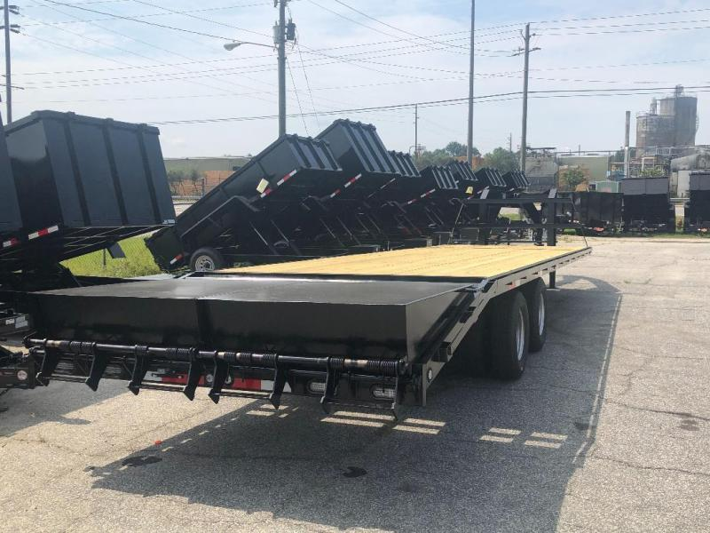Down 2 Earth Trailers 10 Ton 30' Deckover Gooseneck Equipment Trailer