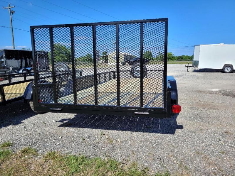 Southern Trailer Depot 7x16TA-3500 HD Double Gate Utility Trailer