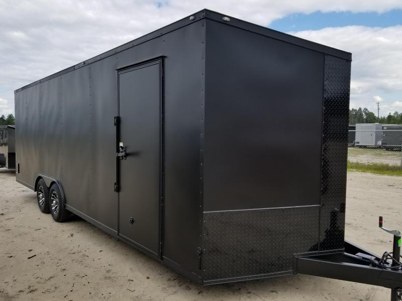 Rock Solid Cargo 4x6 - 8.5x48s Available Now - Super Sale On All Enclosed Cargo Trailers