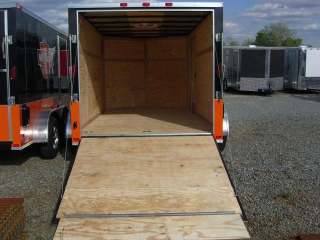 7x12 TVRH Harley Enclosed Cargo Trailer