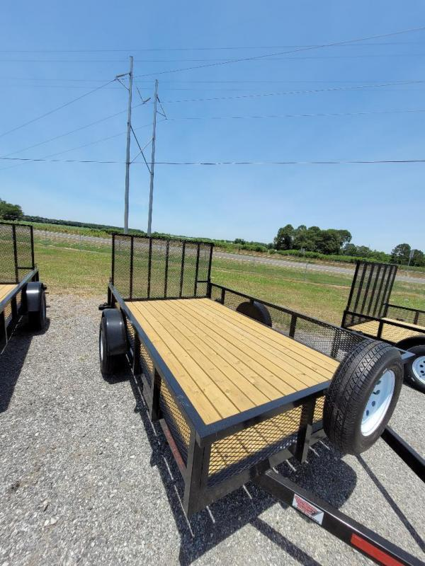 2021 Southern Trailer Depot 7x12SA-3500 HD Ramp Gate Utility Trailer