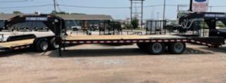 2021 Sure-Trac 8.5x20+5 Heavy Duty Low Profile Gooseneck Flatbed Trailer