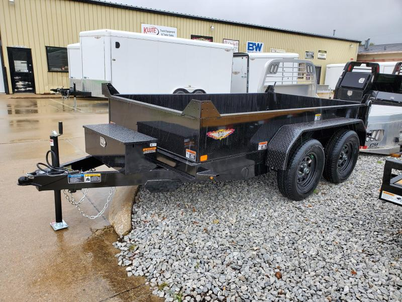 2021 H and H Trailer 62 X 10 UTILITY DUMP 15IN SW 7K BRAKE